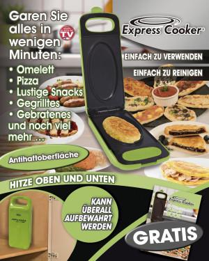 Express Cooker Multigrill für die Küche - Grün