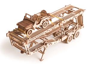 WOOD TRICK Car Trailer für LKW-Zugmaschine, 200 Bauteile