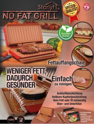 No Fat Grill - weniger Fett, dadurch gesünder