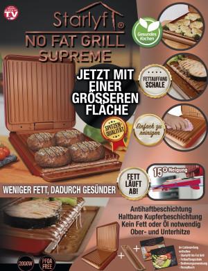 No Fat Grill - weniger Fett, dadurch gesünder - PREMIUM-Version
