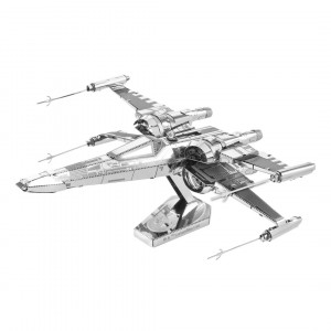 METAL EARTH 3D-Bausatz STAR WARS EP 7 PD X-Wing Fighter