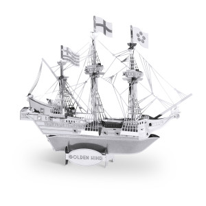 METAL EARTH 3D kit Golden Hind