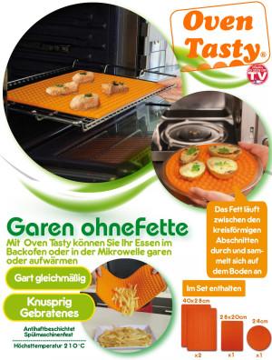 Oven Tasty - endlich Garen ohne Fette! Vorteilsset!