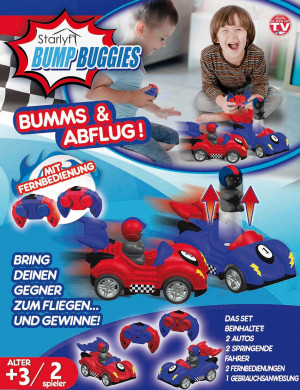 Bump Buggies Set - The bumper car adventure for children