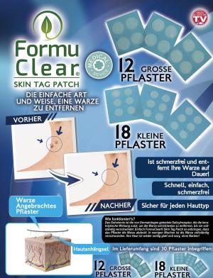 Formu Clear Skin Tag Patch - Sortiment mit 30 Stück - Warzenpflaster