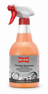 BALLISTOL Felgen-Reiniger mit Farb-Indikator, 750ml - entfernt hartnäckigsten Schmutz