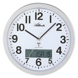 Atlanta 4380/19 radio-controlled wall clock