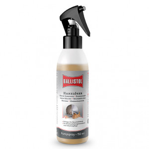 BALLISTOL resin remover, 150ml - dissolves burnt-in resin residues