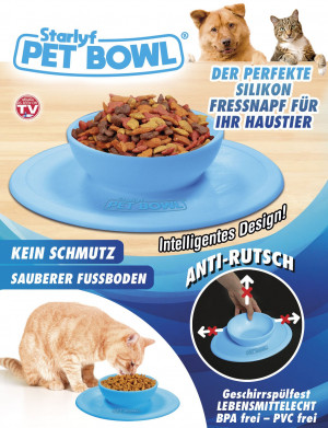 Pet Bowl - The perfect silicone food bowl for your pet