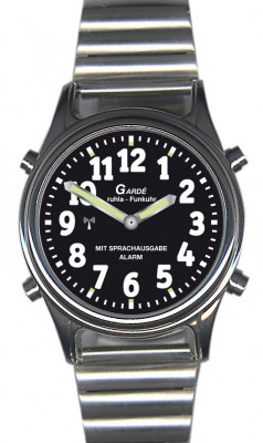 Uhren Manufaktur Ruhla - talking radio controlled wristwatch