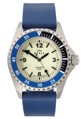 Uhren Manufaktur Ruhla - Kampfschwimmer-Uhr - Original-Uhrwerk Kaliber 13
