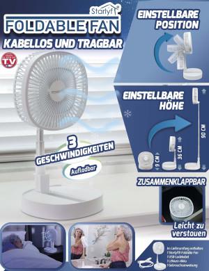 Ventilator höhenverstellbar