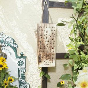 Waldbienennistholz - Nisthilfe für Bienen