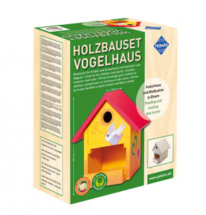 Holzbauset Vogelhaus