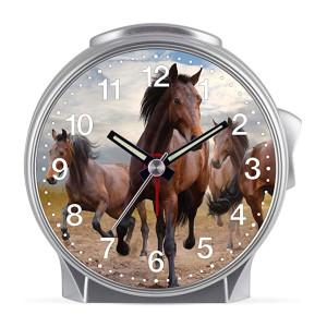 Kinderwecker Pferd - 3 braune Pferde