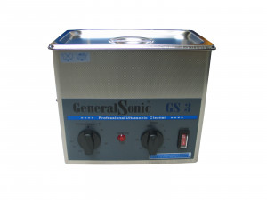 Ultraschallgerät General Sonic 3 Liter - mit Korb und Deckel
