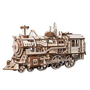ROKR 3D-Bausatz Lokomotive Prime Steam Express