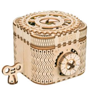 ROKR 3D-Bausatz Schatzkiste Treasure Box