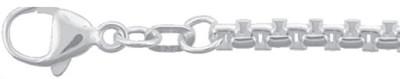 Collier Silber 925/-, Venezia rund 50cm