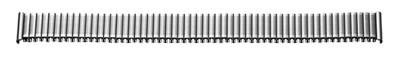 Flex-Metallband Edelstahl 10-12 mm Stahl poliert / mattiert mit Wechselanstoß