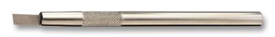 Burin widia en métal dur, forme lame, pour tiges de remontoirs, etc, largeur: 6 mm, épaisseur: 0.5 mm