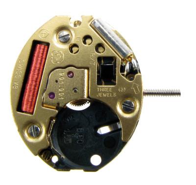 Watch movement quartz ETA 901.001 Gold, hour H 1.00 Standard