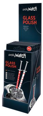 PolyWatch Glass Polish, polissage pour verre de montres, Smartphones, voitures, etc