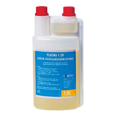 Watch/ clock cleaner Platina 1.20 - 1 litre in dosing bottle