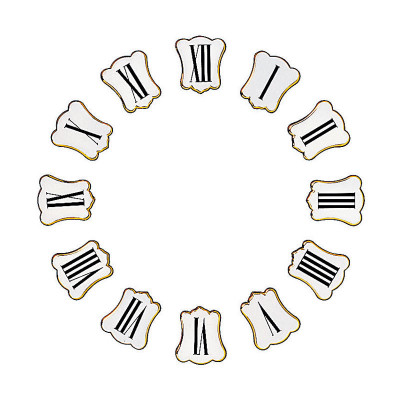 Number set with Roman numerals 24 x 27 mm
