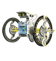 Kit de construction 14 en 1 Robot solaire