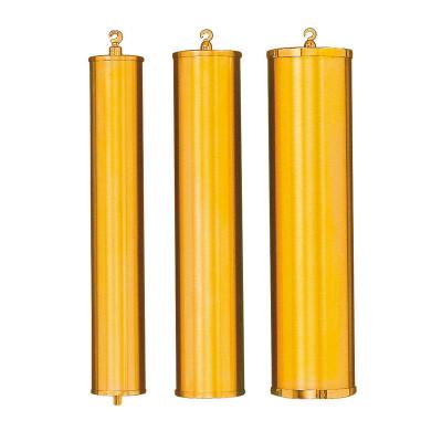 Gewichtshülse poliert gelb Messing L:248 Außen-Ø:40