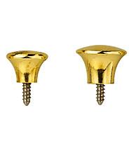 Trim part door knob brass