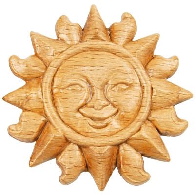 Trim part wood sun