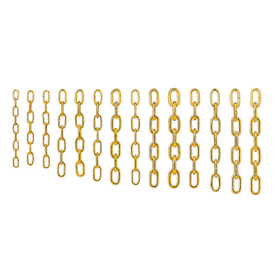 Gewichtskette gelb L:1800 Gliedlänge: 11,6 Ø 4,3mm
