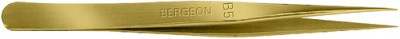 Tweezers B5 brass Bergeron 130 mm