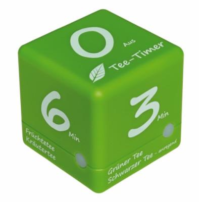 TFA Kurzzeitmesser Cube Tee-Timer grün