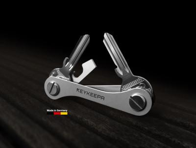 Keykeepa Inox pour jusqu'à 12 clés, argent