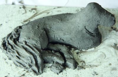 Professional kneadable concrete, grey, 1500 g