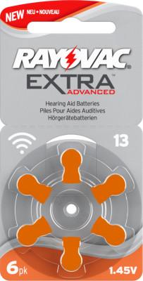 Rayovac 13 pile bouton pour l'appareil auditif