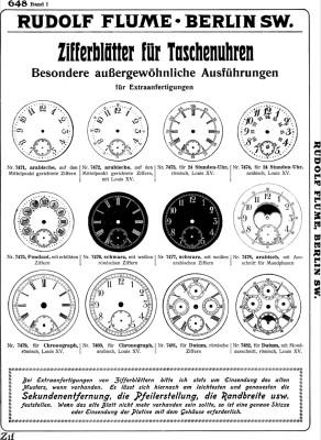 Catalogue de l'anniversaire Flume 1887-1912