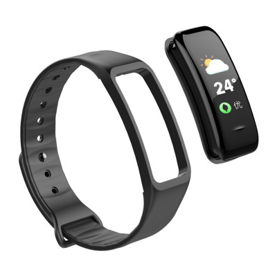Fitness Tracker, black, with color display