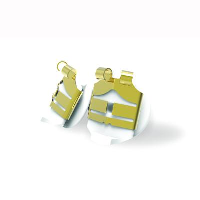 LOX - Sécurité pour boucles d'oreilles hypoallergéniques, 24K dorée