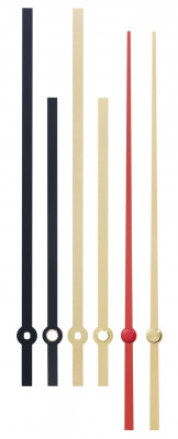 Mouvement à quartz, Junghans NJ 838, avec aiguilles design extra fort, Longueur d'onde d'aiguille 26mm