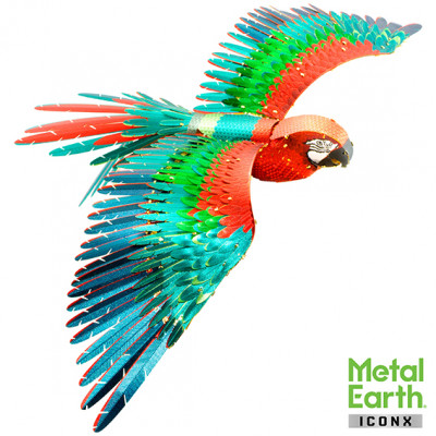 METAL EARTH 3D construction kit Parrot