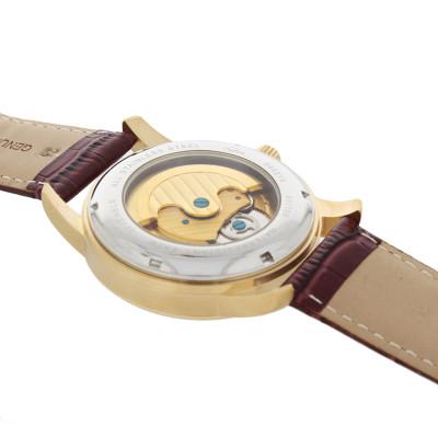 SELVA Men's Watch »Ramon« -sun/moon - skeletonized - gilded