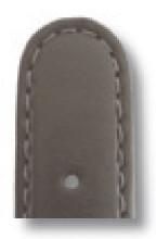 Bracelet-montre en cuir Phoenix 10mm gris lisse