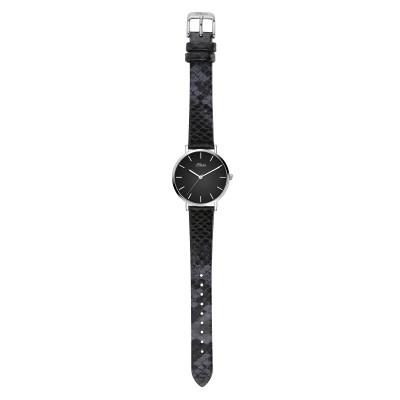 s.Oliver SO-3848-LQ Genuine leather black 16mm