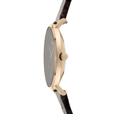 s.Oliver SO-3849-LQ Genuine leather brown 16mm