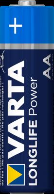 Varta 4906 pile, quarte plaxé LR6, Mignon AA