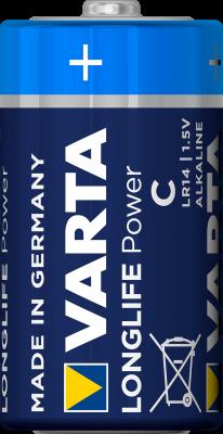 Varta 4914 Batterie LR14, Baby, C, AM2